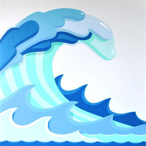 clipart waves tidal wave clipart