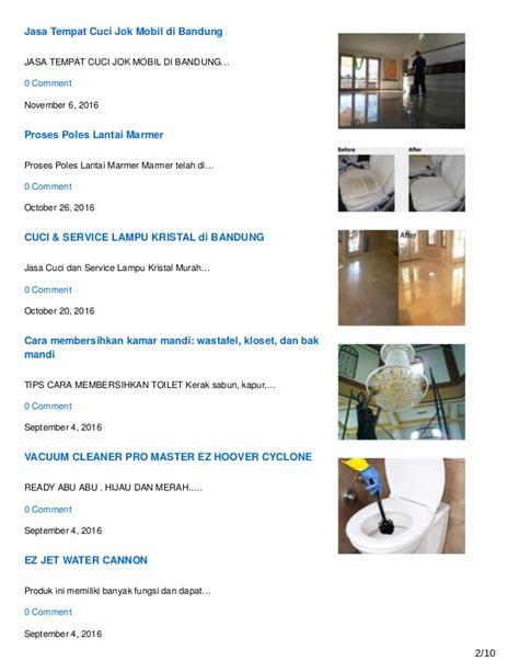 Ez Jet Water Cannon Di Bandung cleaning service dan home cleaning terbaik di bandung