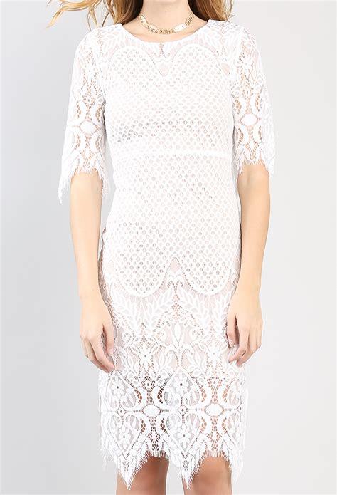 Eyelash Hem Dress eyelash lace hem mini dress shop clothing at papaya clothing