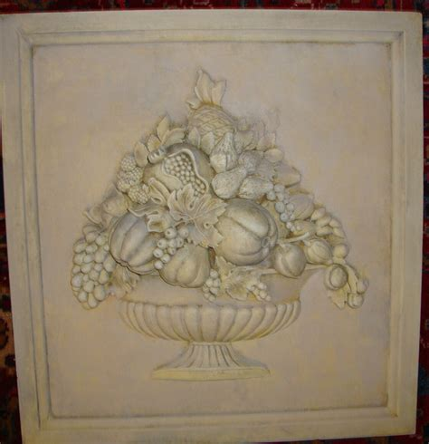 decorative kitchen backsplash cast lime stone tile art