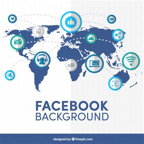 facebook layout vector free facebook map background vector free download