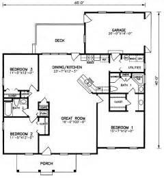 1600 Sq Ft Floor Plans by 1600 Square Feet 3 Bedrooms 2 Batrooms 1 Parking Space