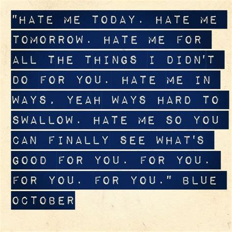 you and me lyrics blue me by blue october lyrics tweegram flickr photo