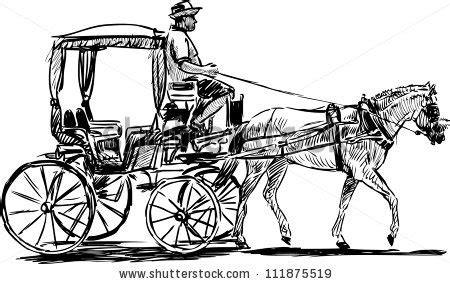 Horse drawn carriage Stock Photos, Images, & Pictures