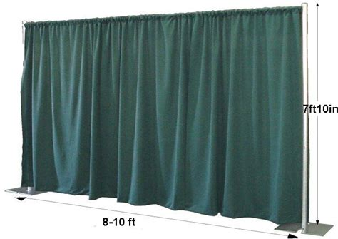 free standing curtain pipe and drape on pinterest wedding stage wedding stage