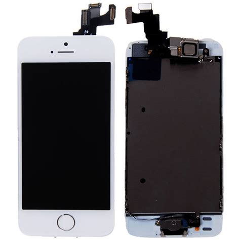 Apple Iphone 5s Lcd new oem apple iphone 5s lcd screen touch digitizer with frame white