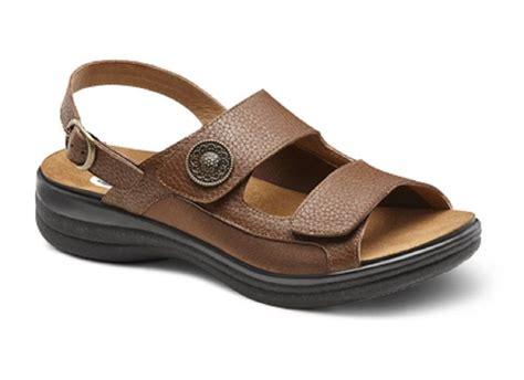 s dr comfort diabetic brown sandal shoe for