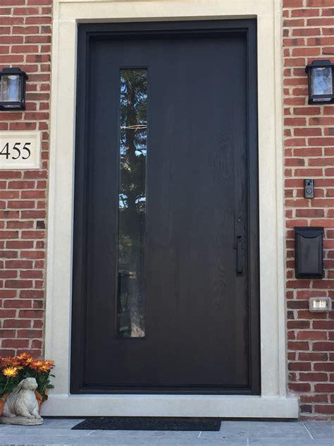 Modern Black Exterior Door Ontario Modern Doors Exterior Doors Ontario