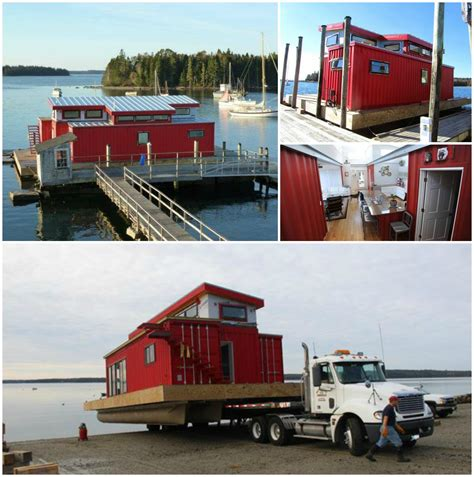 Step Inside a Shipping Container Houseboat