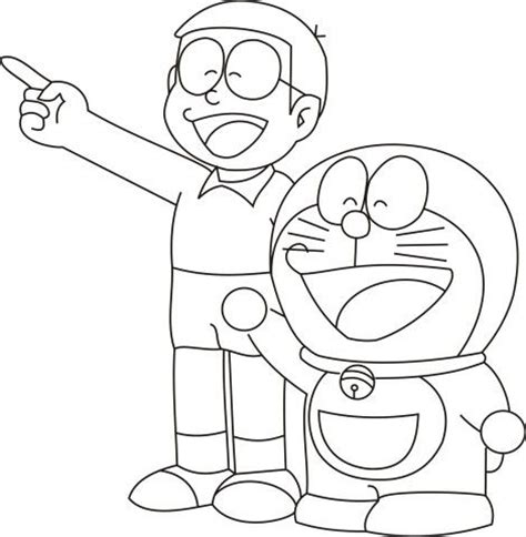 pages of doraemon doraemon with nobita colouring pages freen