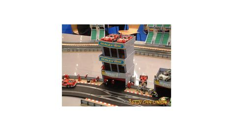 Scalextric Pit Garage by Scalextric C8321 Pit Garage Slot Car Union