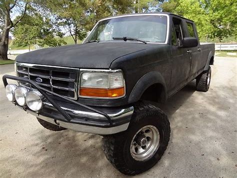 how petrol cars work 1994 ford f350 seat position control buy used 1994 ford f350 xlt lifted 4x4 fully rhino lined crew cab lonb bed in rancho palos