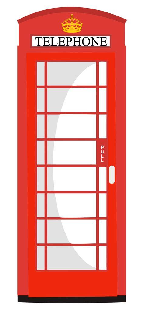 Telephone Box By clipart telephone box
