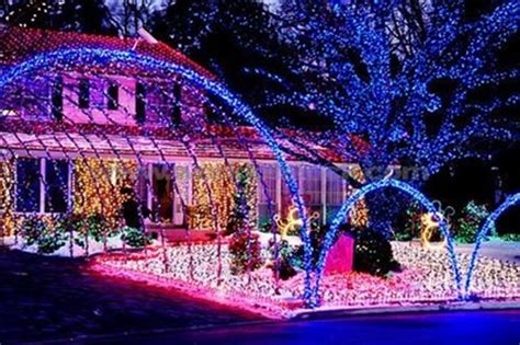 where do you get best christmas decorations your light display could win you a tesla roadster test drive 187 autoguide news