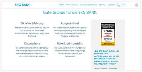 skg bank ratenkredit skg bank kredit erfahrungen test kunden meinungen 2019