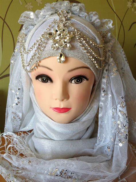 image gallery hijab accessories for wedding