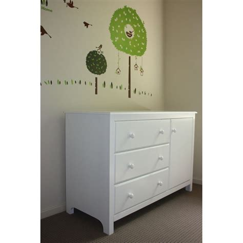 changing table with drawers and cabinet white baby change table chest of drawers cabinet buy