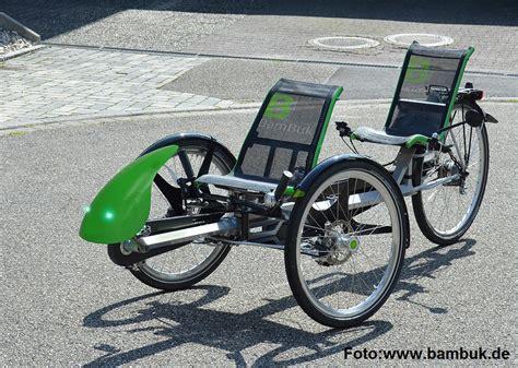 liege fahrrad liegerad trike f 252 r zwei tandem mit pedelec antrieb