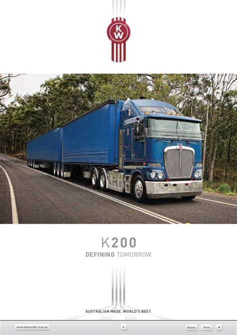 kenworth the world s best kenworth k200 vehicle specifications