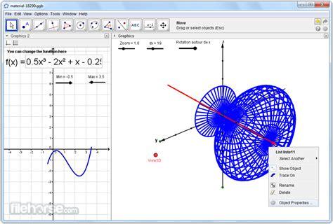 full version java software free download geogebra v5 0 59 0 full version