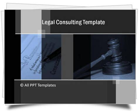 powerpoint legal consulting template
