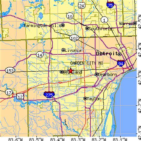 Garden City Mi Zip Code garden city michigan mi population data races