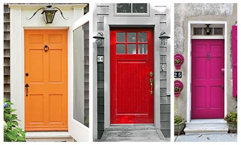 Colourful Front Doors Blue Door Painting Colorful Front Door Painting Chicago