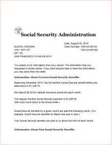 10 social security benefits letter registration
