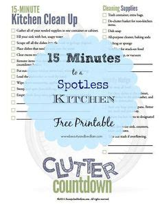 13 kitchen cleaning tips that can be done easily and free printable house rules chart house rules for