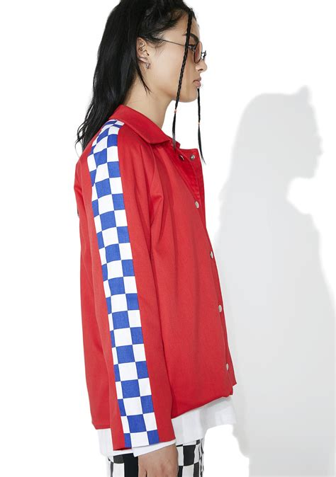 Checkerboard Coach Jacket the ragged priest sketch jacket dolls kill