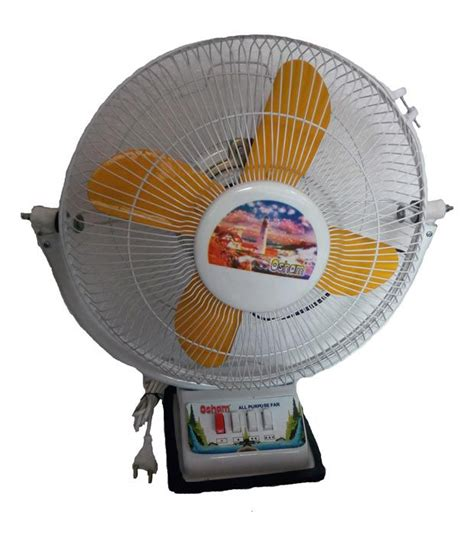high speed table fan osham 12inch high speed multipurpose table fan price in