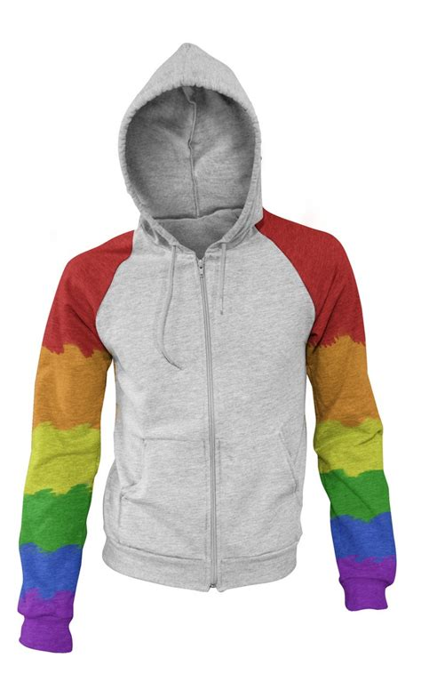 Sweater Doraemon Raimbow Pocket rainbow hoodie by karatealive on deviantart