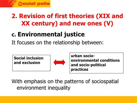 pattern theory of justice cities social cohesion and the environment