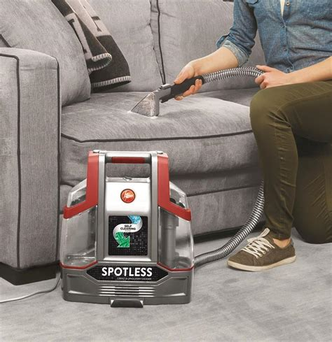 portable upholstery cleaner hoover spotless portable carpet upholstery cleaner fh11300