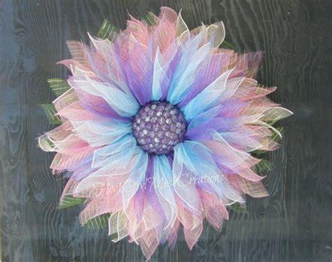 22000 Pink Flower Mesh blue flower wreath blue deco mesh flower wreath blue ombre flower wreath wreath pink