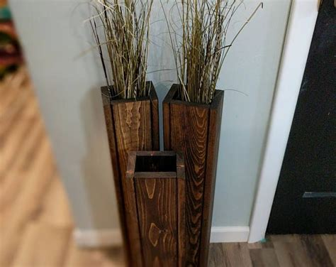 Distressed Floor Vase - best 20 wood vase ideas on decorating vases