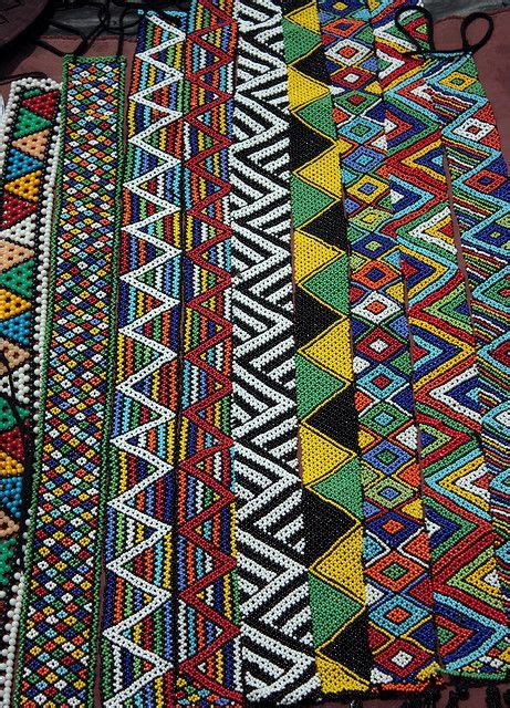 zulu beadwork south africa land of and