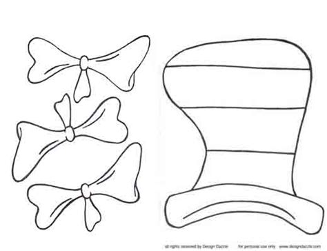 dr seuss hat template search results for dr seuss hat and bow tie pattern
