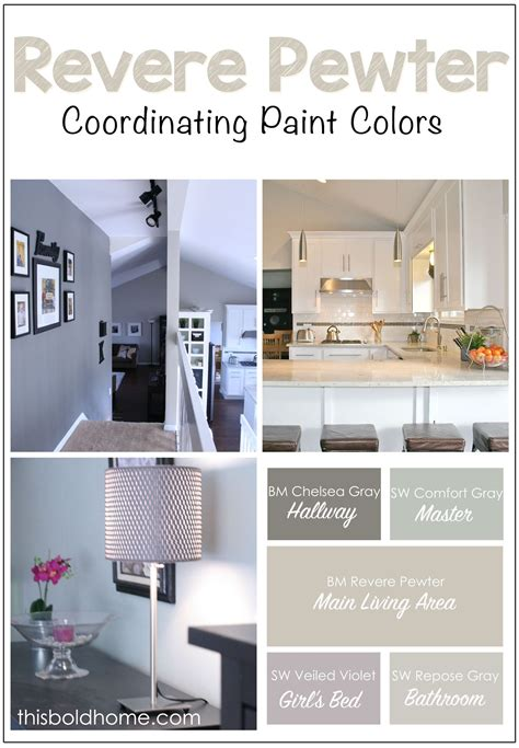 how to coordinate paint colors revere pewter coordinating colors www pixshark com