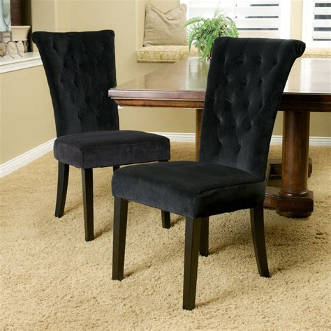 black table chairs best 25 black dining chairs ideas on black