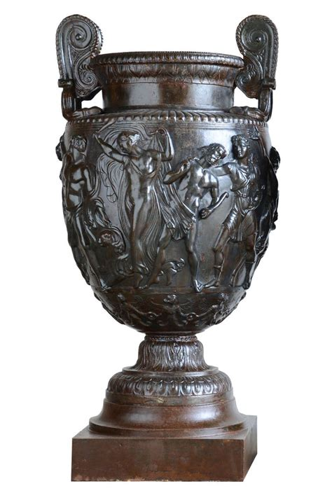 Cast Iron Vase by Pair Of Cast Iron Vases After The Townley S Vase