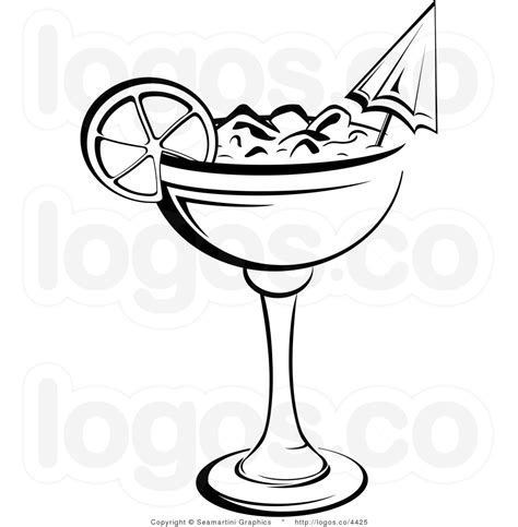 margarita clipart black and white black and white clip alcoholic drink pictures to pin