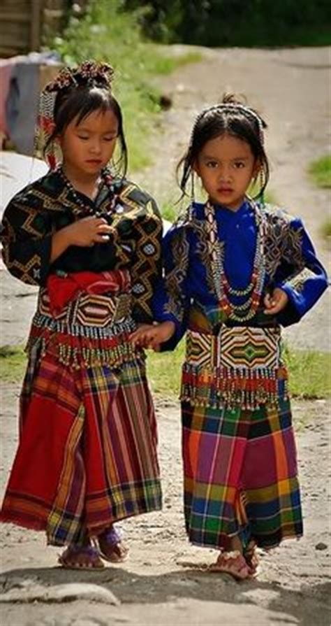 mindanao tribal tattoo t boli children in traditional clothes southern mindanao