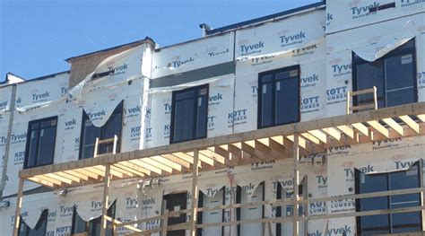 what is house wrap all about rainscreens weather barriers house wraps and wrbs green home guide ecohome