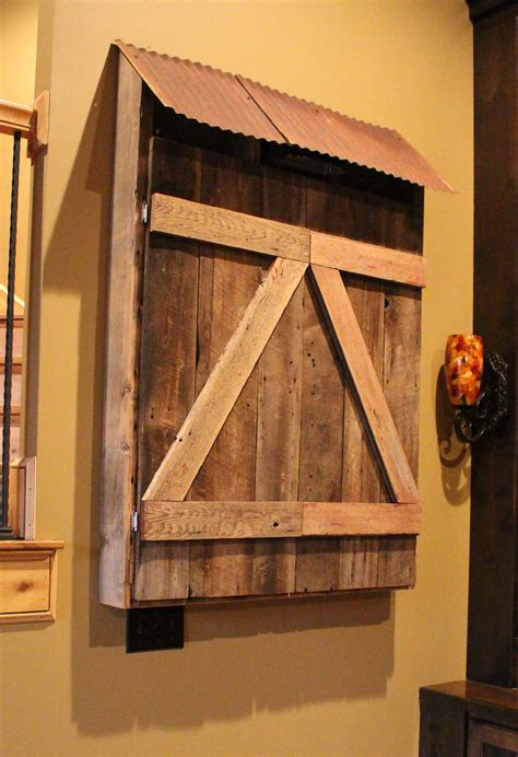 handmade dart board cabinet crafted barn wood dart board cabinet by into the