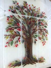 Tree Of Life Wall Mural Quot Tree Of Life Quot Fused Glass Wall Mural Designer Glass