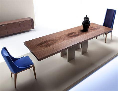 Nella Vetrina Costantini Pietro Soho 9111 Extension Walnut Dining Table