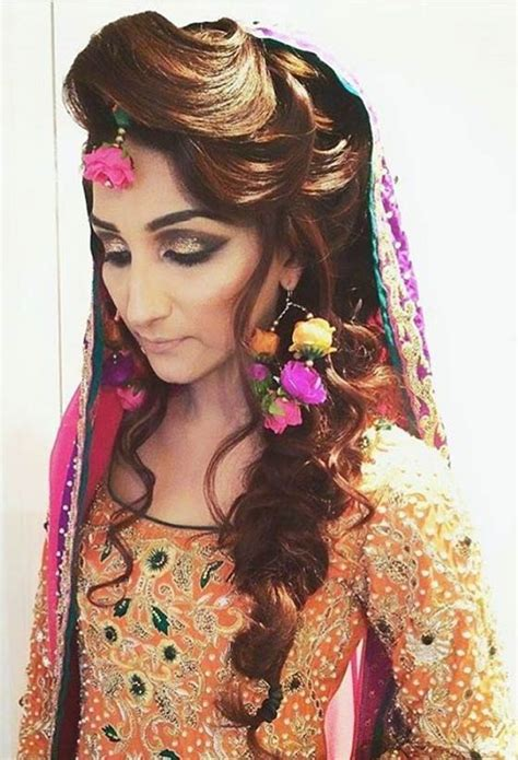 muslim bridal hairstyles for hair best indian wedding hairstyles for brides 2016 2017