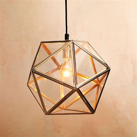 7 Interior Design Trends To Love Geometric Light Fixtures