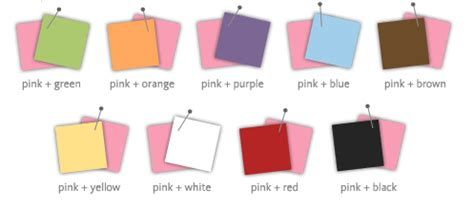 what color goes with pink colors that go with pink ohio trm furniture